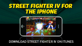 Super Street Fighter 4 iPhone App